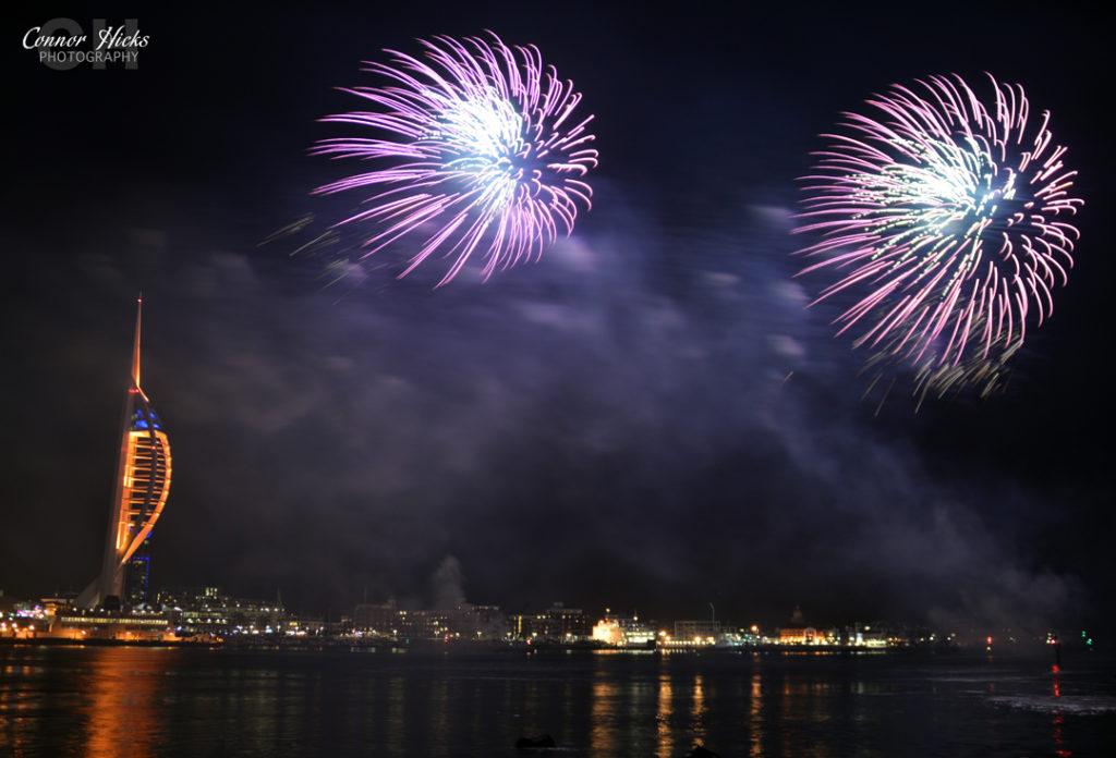 DSC 0103 311014 1024x696 Gunwharf fireworks display