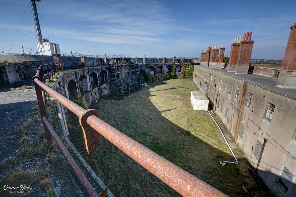 Fort Gilkicker Portsmouth Hampshire Urbex 5 1024x681 Fort Gilkicker, Gosport