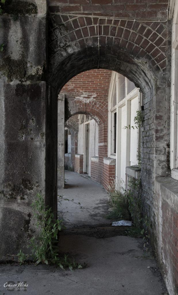 Fort Gilkicker Urbex walkway 619x1024 Fort Gilkicker, Gosport