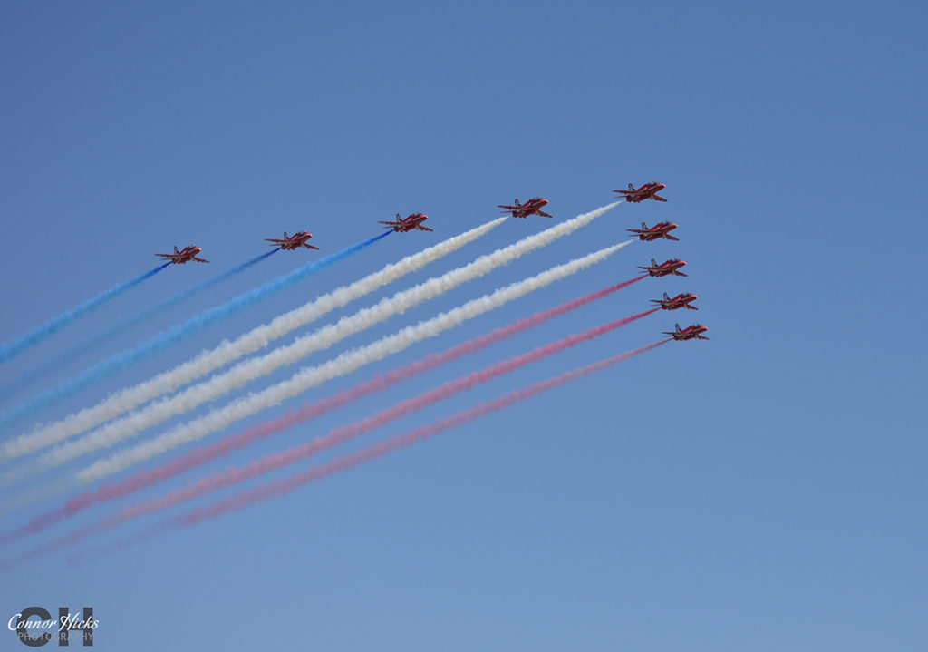 D Day 70 Portsmouth Southsea Hampshire Photography Photographer Red Arrows 12 1024x719 D Day 70 Commemorations, Southsea