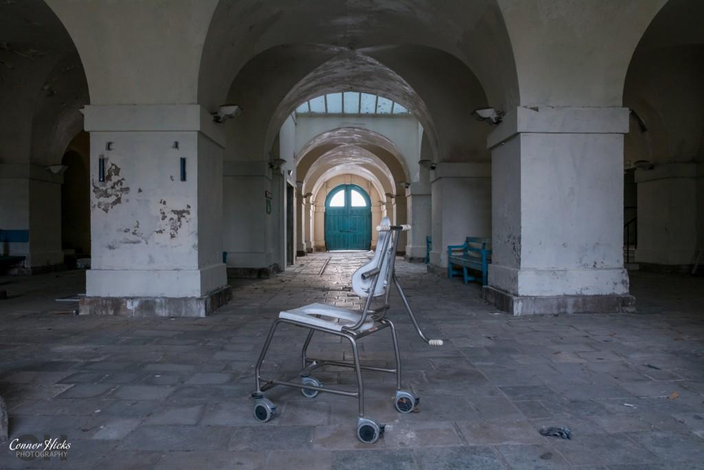 Haslar Hospital Arches Urbex 1024x683 The Royal Hospital Haslar, Gosport