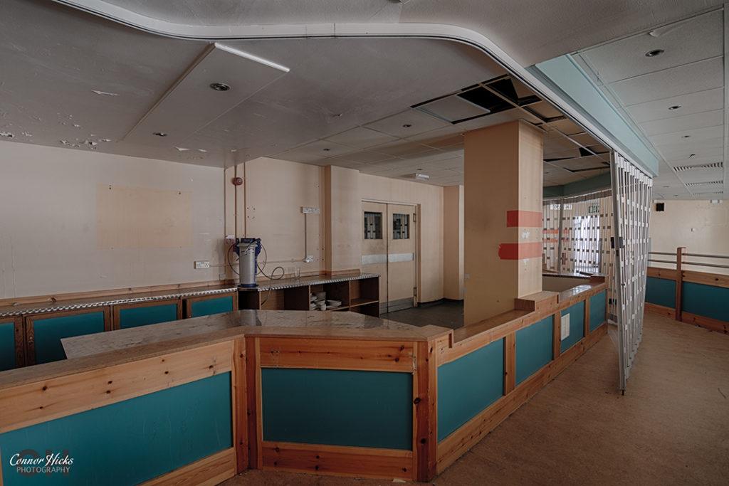 Haslar Hospital Hampshire Urbex Coasters Cafe 1024x683 The Royal Hospital Haslar, Gosport