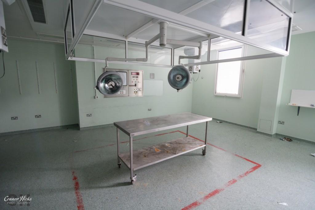Haslar Hospital Urbex Operating Theatre 1024x683 The Royal Hospital Haslar, Gosport
