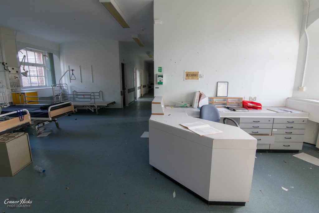 Haslar Urbex Ward Reception 1024x683 The Royal Hospital Haslar, Gosport
