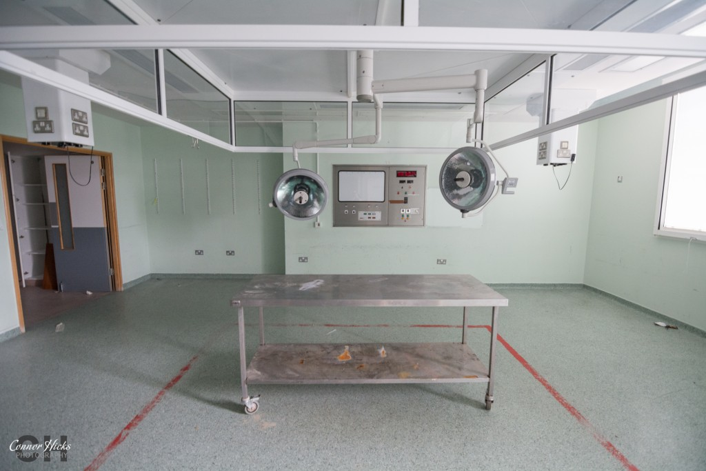 Hospital Haslar Urbex Operation Theatre  1024x683 The Royal Hospital Haslar, Gosport