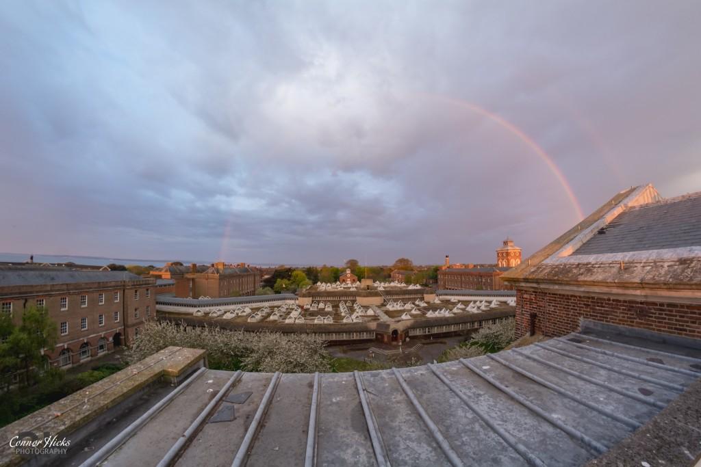 Royal Hospital Haslar Rainbow 1024x683 The Royal Hospital Haslar, Gosport