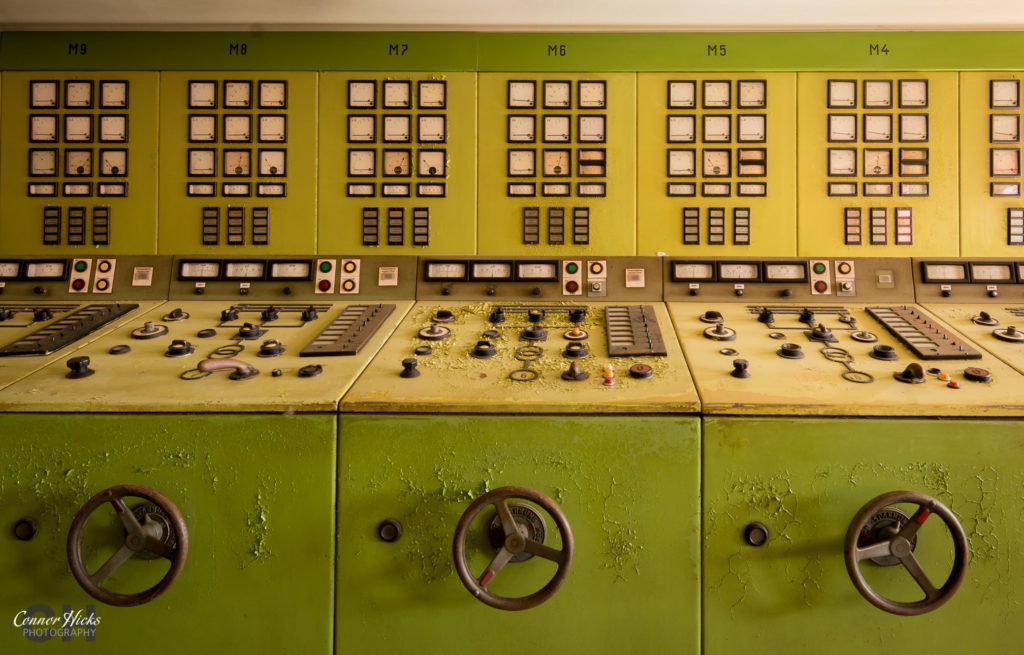 germany kraftwerk v urbex control panel 1024x655 Kraftwerk V, Germany