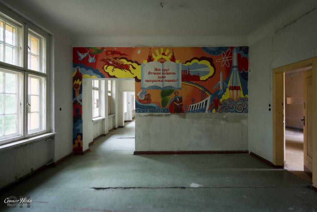 Haus Der Offiziere germany mural 1024x683 Haus Der Offiziere, Germany (Permission Visit)