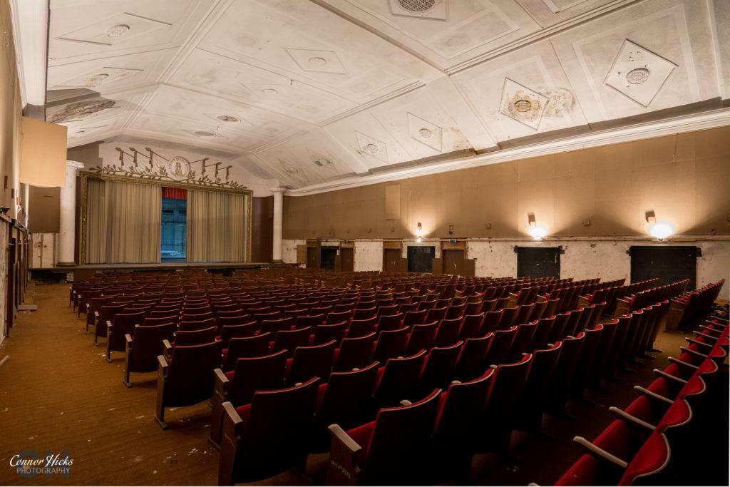 Haus Der Offiziere theatre urbex germany 1024x683 Haus Der Offiziere, Germany (Permission Visit)